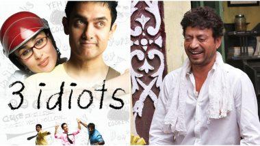 Boman Irani Reveals He Wanted Irrfan Khan to Play THIS Character in Rajkumar Hirani's 3 Idiots