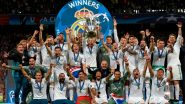 This Day That Year: Cristiano Ronaldo Played His last Game For Real Madrid Winning his Fifth Champions League Title, Los Blancos Share Video