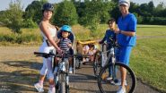 Cristiano Ronaldo Goes Bike-Riding With Girlfriend Georgina Rodriguez & Kids (See Pic)