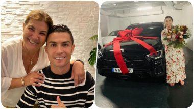 Cristiano Ronaldo's Mum Dolores Aveiro Receives Mercedes As Mother's Day Gift, Praises CR7's Girlfriend Georgina Rodriguez (See Pic)