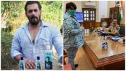 Salman Khan Donates FRSH Sanitisers To Police Personnel in Mumbai, 1 Lakh Bottles Distributed (See Pics)