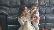 Sania Mirza Celebrates Eid Al-Fitr With Son Izhaan, Tennis Star Posts Cute Picture on Twitter