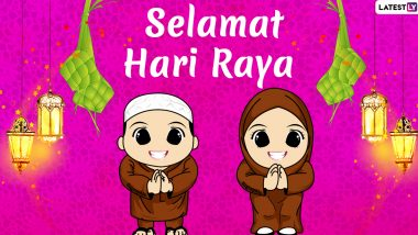 Selamat Hari Raya Aidilfitri 2020 Wishes Hd Images Whatsapp Stickers Messages And Gifs To Send Hari Raya Greetings Latestly