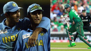 Sourav Ganguly Was My First Cricket Hero; Yuvraj Singh My Favourite Cricketer, Says Bangladesh Batsman Soumya Sarkar