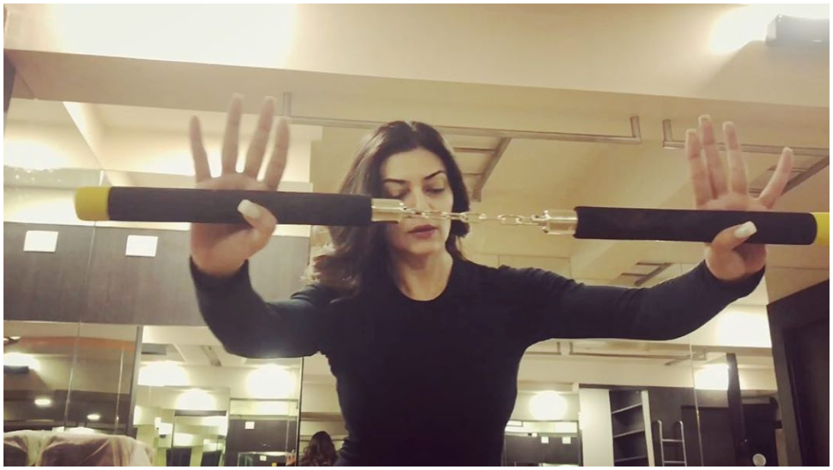 Sushmita Sen Reveals She Battled the Life-Threatening Addison's Disease but Has Recovered With the Help of Meditation Using Nunchaku