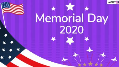Memorial Day 2020 Wishes, Quotes & Sayings: Share Images, Greetings and WhatsApp Stickers with Your Loved Ones to Honour The Bravehearts On Decoration Day