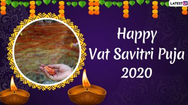 Vat Savitri 2020 Messages in Hindi for Husband: WhatsApp Stickers, Facebook Wishes, GIFs and Images to Send on Vat Purnima