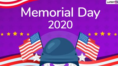 Memorial Day 2020 Wishes & HD Images: WhatsApp Stickers, US Memorial Day Messages, Facebook Greetings and GIFs to Honour Military Heroes of the Country