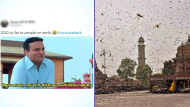 Locust Attack Funny Memes and 'Tiddi Dal' Jokes Take over Twitter
