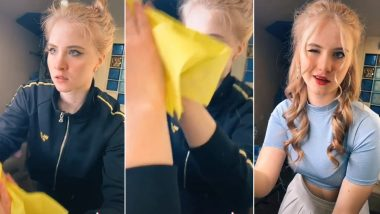 'Wipe It Down Challenge' Is the Latest TikTok Trend! Videos of Users Transforming Into New Look While Cleaning Their Mirrors Go Viral