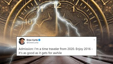 Drew Curtis' Fun Tweet Warning About 2020 From 4 Years Ago Goes Crazy Viral, Netizens Ask 'Time Traveler' More Questions About The Future