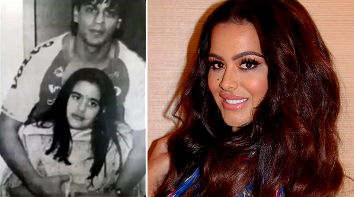 Sanjay Dutt's Daughter Trishala Shares A Throwback Picture With Shah Rukh Khan But Can't Remember When It Was Taken