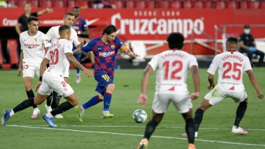 Sevilla 0-0 Barcelona, La Liga 2019-20 Results: Stalemate Hands Real Madrid Chance to Go to Top