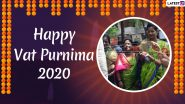 Vat Purnima Images & HD Wallpapers for Free Download Online: Wish Happy Vat Savitri Purnima 2020 With WhatsApp Stickers, GIF Greetings and Facebook Messages