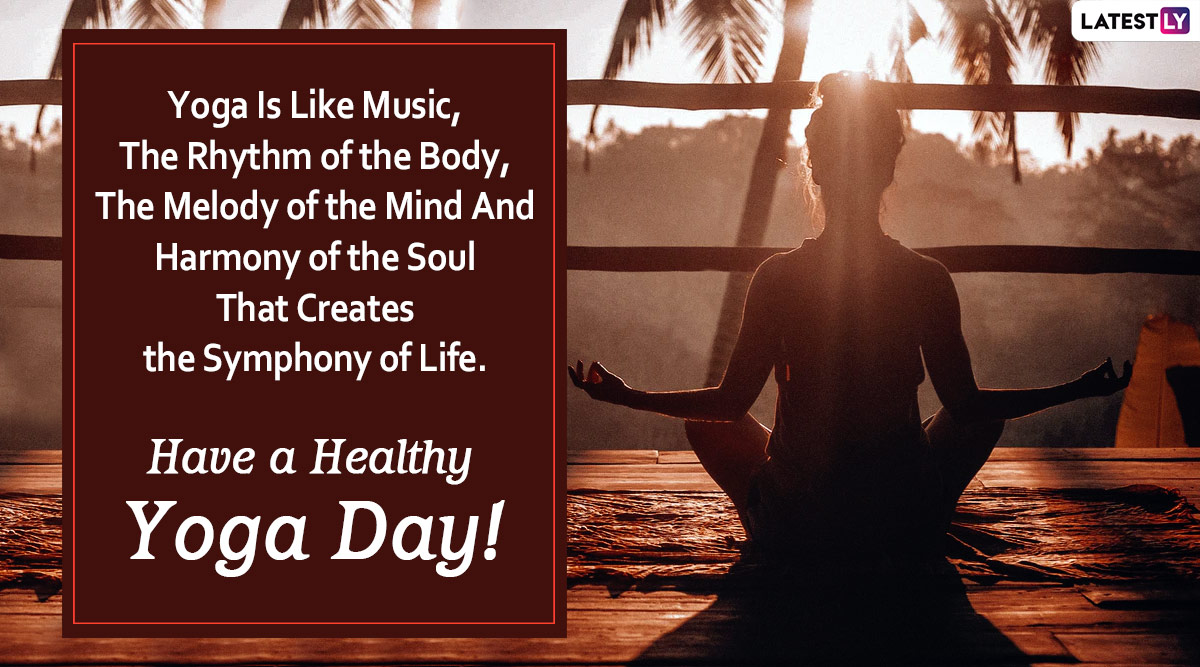 International Yoga Day 2020 Wishes Hd Images Whatsapp Stickers Happy Yoga Day Messages Facebook Greetings Quotes And Gifs To Encourage The Practice Of Yoga