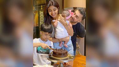 Shilpa Shetty Expresses Gratitude for Having Precious Time of Life with Son Viaan and Newborn Daughter Samisha