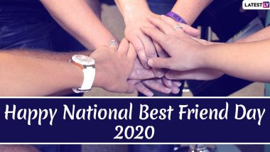 National Best Friend Day 2020 Quotes & HD Images: Wish Happy BFF Day With WhatsApp Stickers, GIF Greetings, Instagram Captions, Facebook Messages and Photos