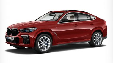 2020 BMW X6 SUV-Coupe Launched in India at Rs 95 Lakh; Prices, Features, Specifications & Other Details