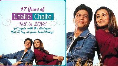 Rani Mukerji Remembers Shooting with Shah Rukh Khan as Chalte Chalte Clocks 17 Years