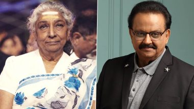 S Janaki Death Hoax: SP Balasubrahmanyam Confirms The Veteran Singer Is Fine, Requests Netizens To Not Spread Rumours About Her Health (Watch Video)