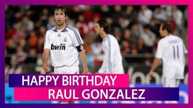 Happy Birthday Raul Gonzalez: Best Goals By the Former Spanish Footballer
