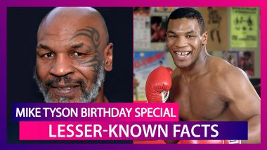 Happy Birthday Mike Tyson: Lesser Known Facts About The Boxing Great As He Turns 54
