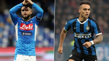 Napoli vs Inter Milan, Coppa Italia 2019-20: Lorenzo Insigne, Lautaro Martinez And Other Players to Watch Out for Ahead of Semi-Final, 2nd Leg