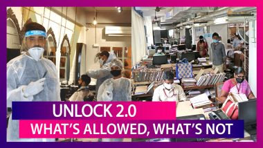 Unlock 2.0: What's Allowed, What's Not; Mumbai Police's 2 Km Diktat As Cases Rise In Maharashtra