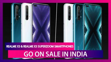 Realme X3 Series with Snapdragon 855+ SoC Goes on Sale in India; Check Prices, Variants, Features & Specifications
