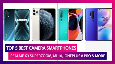Top 5 Smartphones with Amazing Camera; Realme X3 SuperZoom, iPhone 11 Pro Max, OnePlus 8 Pro, Mi 10 & Motorola Edge Plus