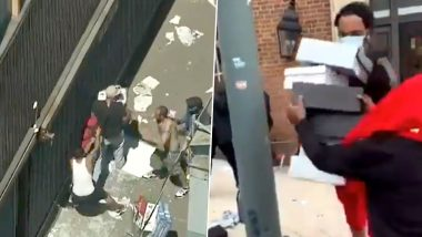 Funny & Shocking Videos of Looters Being Looted After Stealing From Luxury Stores like Chanel, Coach, Adidas, Louis Vuitton, Gucci, Nike, Apple, etc. go Viral As George Floyd's Death Protests Go Out Of Hand