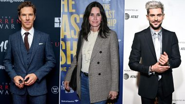 Benedict Cumberbatch, Courteney Cox and Zac Efron Among 35 Celebs to Be Honoured in Hollywood Walk of Fame 2021
