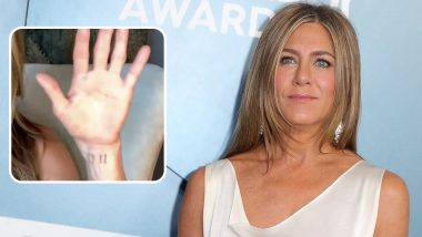 Jennifer Aniston Flaunts Her Rarely-Spotted '11-11' Tattoo During Her Chat With Friends Co-Star Lisa Kudrow
