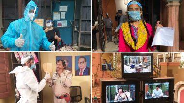 And TV Shows Bhabhiji Ghar Par Hai, Happu Ki Ultan Paltan and Gudiya Humari Sabhi Pe Bhaari Resume Shoots (View Set Pics)