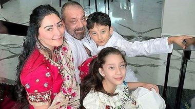 Sanjay Dutt Shares Throwback Family Photo; Actor Misses Wife Maanayata and Kids Who Are Stranded in Dubai