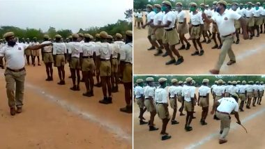 Telangana Police Trains Recruits to the Tunes of Hit Mohammad Rafi Song 'Dhal Gaya Din,' Viral Video Will Drive Away Your Mid-Week Blues