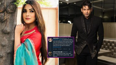 Sidharth Shukla Has A Whacky Comeback To Shehnaaz Gill's Fan Who Asked Him To Seek Work From Punjab Ki Katrina (View Tweet)