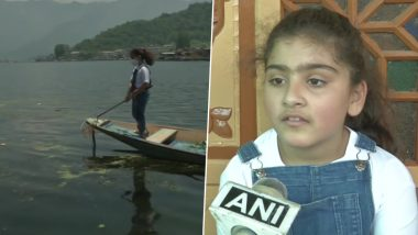 Story of Kashmiri Girl Jannat, Who is Cleaning Dal Lake Since 2 Years, Becomes Part of Hyderabad School's Curriculum