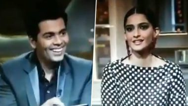 RIP Sushant Singh Rajput: Sonam Kapoor's Old Video From Koffee With Karan Episode Goes Viral, Netizens Slam Her For Mocking the Late Actor