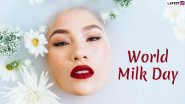 World Milk Day 2020: From Healing Sunburn to Moisturisation, Beauty Benefits of Raw Milk That Will Surprise You!