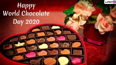 World Chocolate Day 2020 Wishes and HD Images: WhatsApp Stickers, GIFs, Facebook Quotes and Messages to Send Greetings of This Day