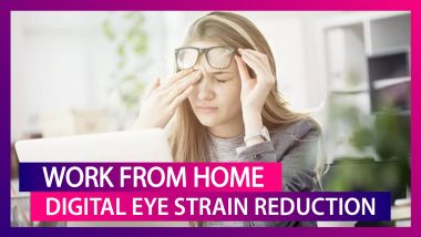 Digital Eye Syndrome: Tips To Avoid Eye Strain While Working From Home