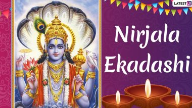 Nirjala Ekadashi 2020 Dry Fasting Benefits: Vrat Vidhi and Reasons Why Fasting Without Water on This Day Will Bring in Good Luck and Positive Vibes