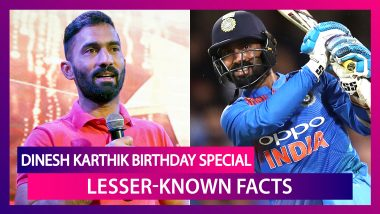 Happy Birthday Dinesh Karthik: Lesser-Known Facts About Indian Wicket-Keeper Batsman