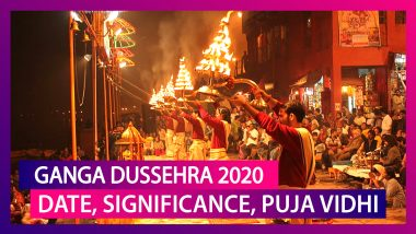 Ganga Dussehra 2020 Date: History, Significance and Puja Vidhi