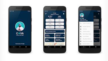 COVA App: Punjab Govt Advises People to Use 'COVA Punjab' Mobile App; Here' How It Helps People Amid COVID-19 Spread