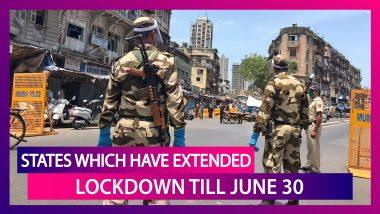 Maharashtra, Tamil Nadu, Punjab Among Other States Have Extended Coronavirus Lockdown Till June 30
