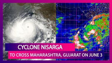 Cyclone Nisarga Storm Tracker: IMD Says Cyclone To Cross Maharashtra & Gujarat Coasts On June 3