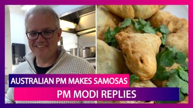 Australian PM Scott Morrison Makes Samosas, PM Modi Says, 'Looks Delicious, Will Enjoy Together'