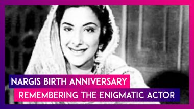 Nargis Birth Anniversary: 5 Lesser-Known Facts About The Legendary Actress